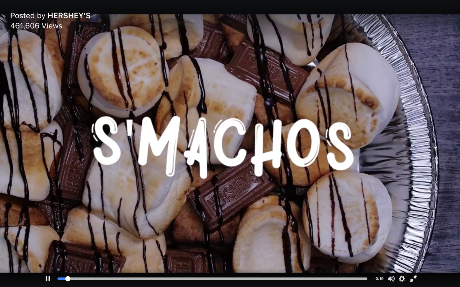 Hershey's S'mores x No Campfire Required Facebook Campaign   Game night can get s'majorly competitive. Keep calm and make S'mores s'machos.  #‎nocampfirerequired