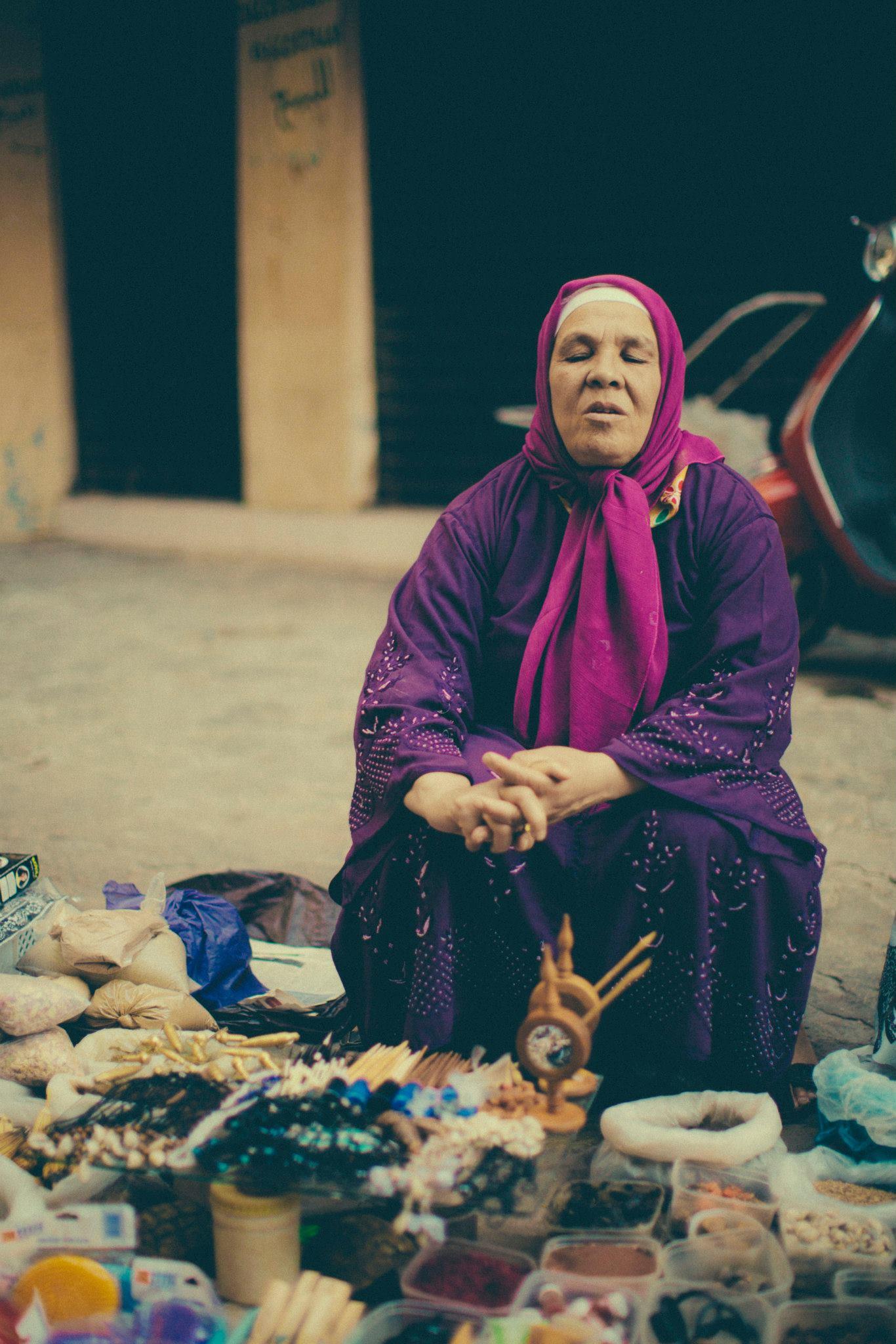 Moroccan Street Vendor