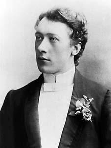 Frederick Matthias ('FM') Alexander as a young actor.