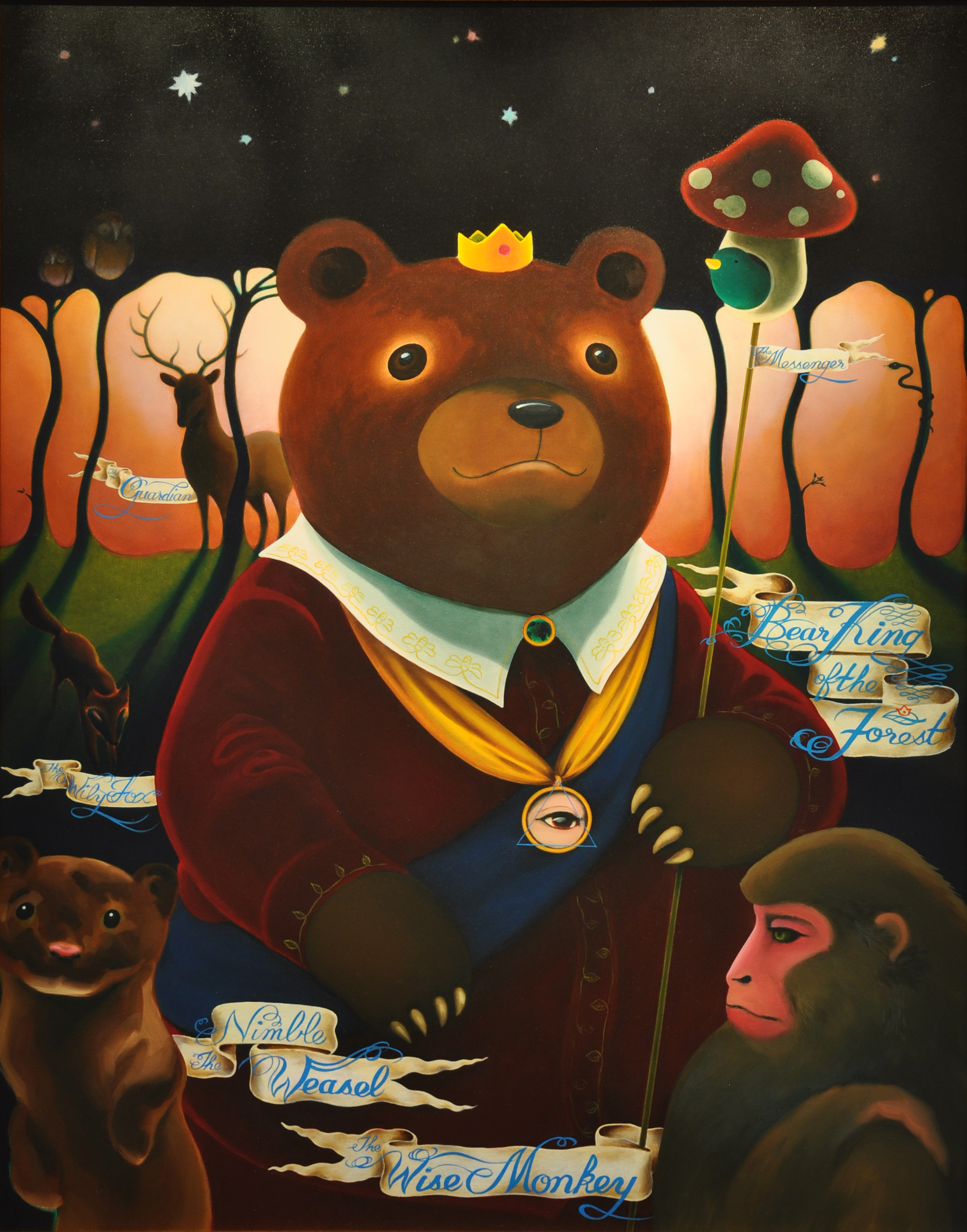 Bear King of the Forest 森林裡的熊大王