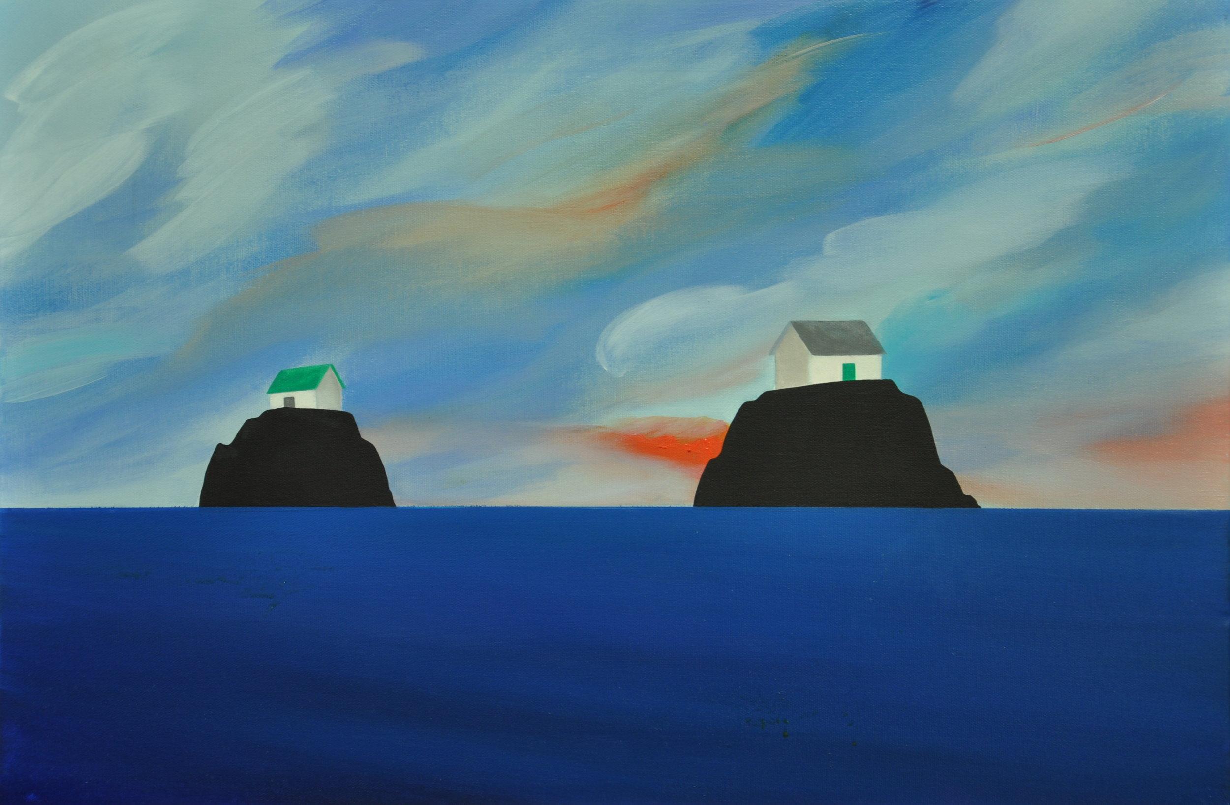 Islands Facing Away (Day)