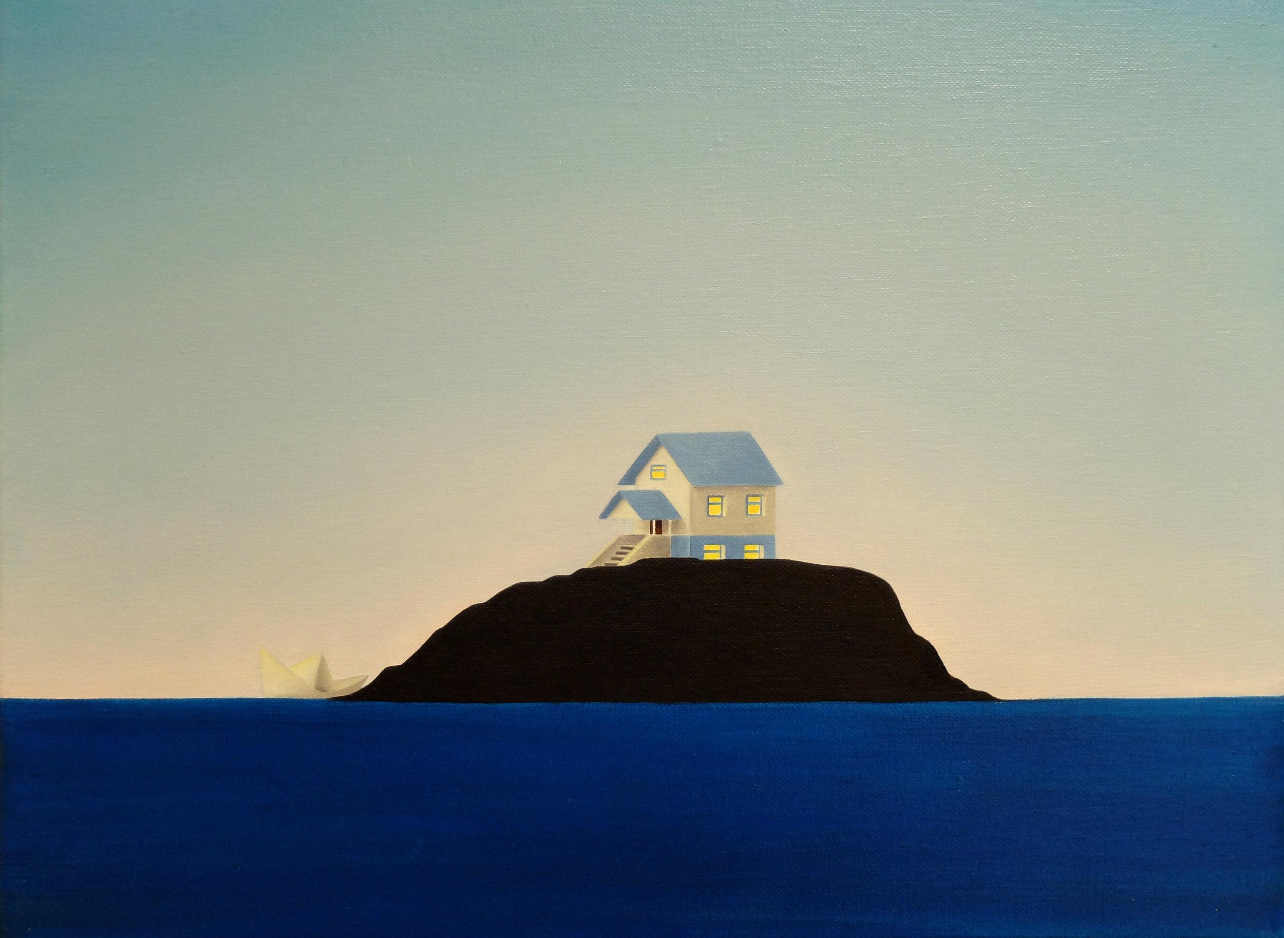 Island Paper Boat