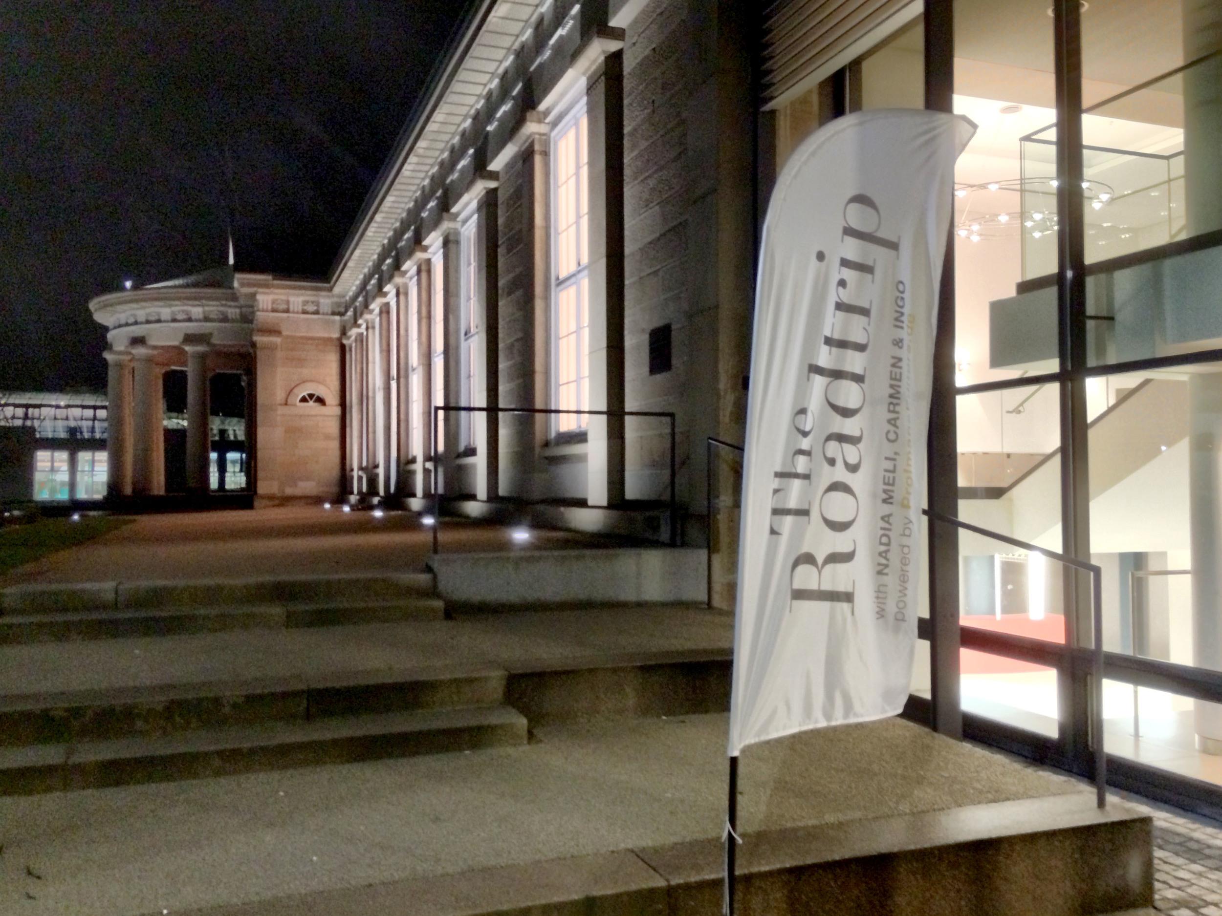Ort des Geschehens Kursaal Cannstatt, Stuttgart. 6 Stunden Vorträge, Austausch und Gespräche.