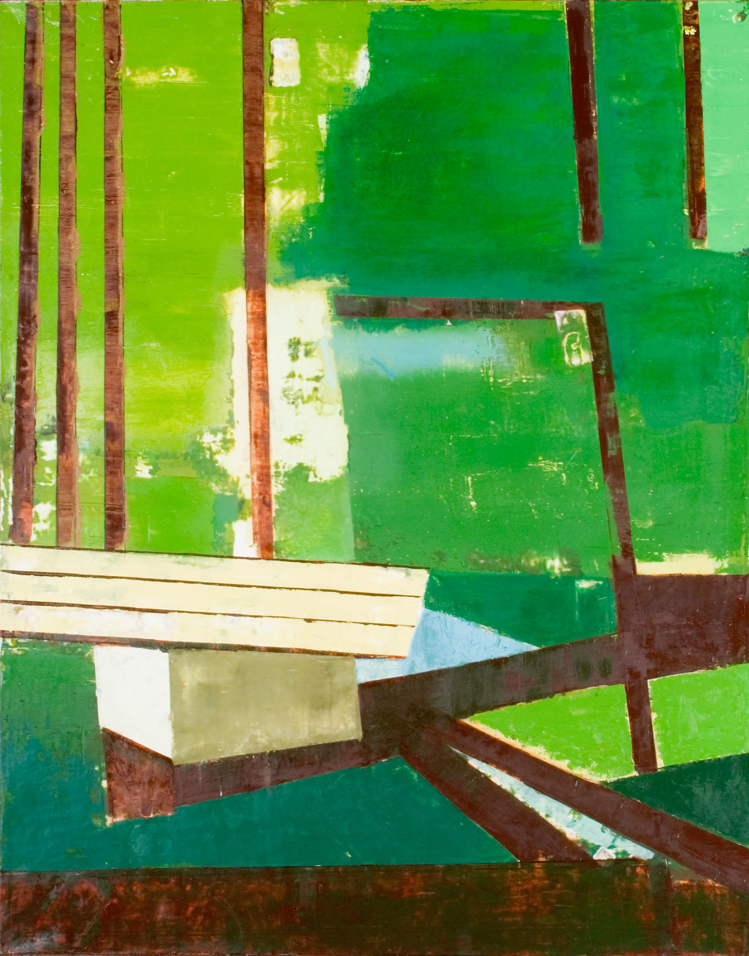Orchard Road. 2006 (167 x 133cm)