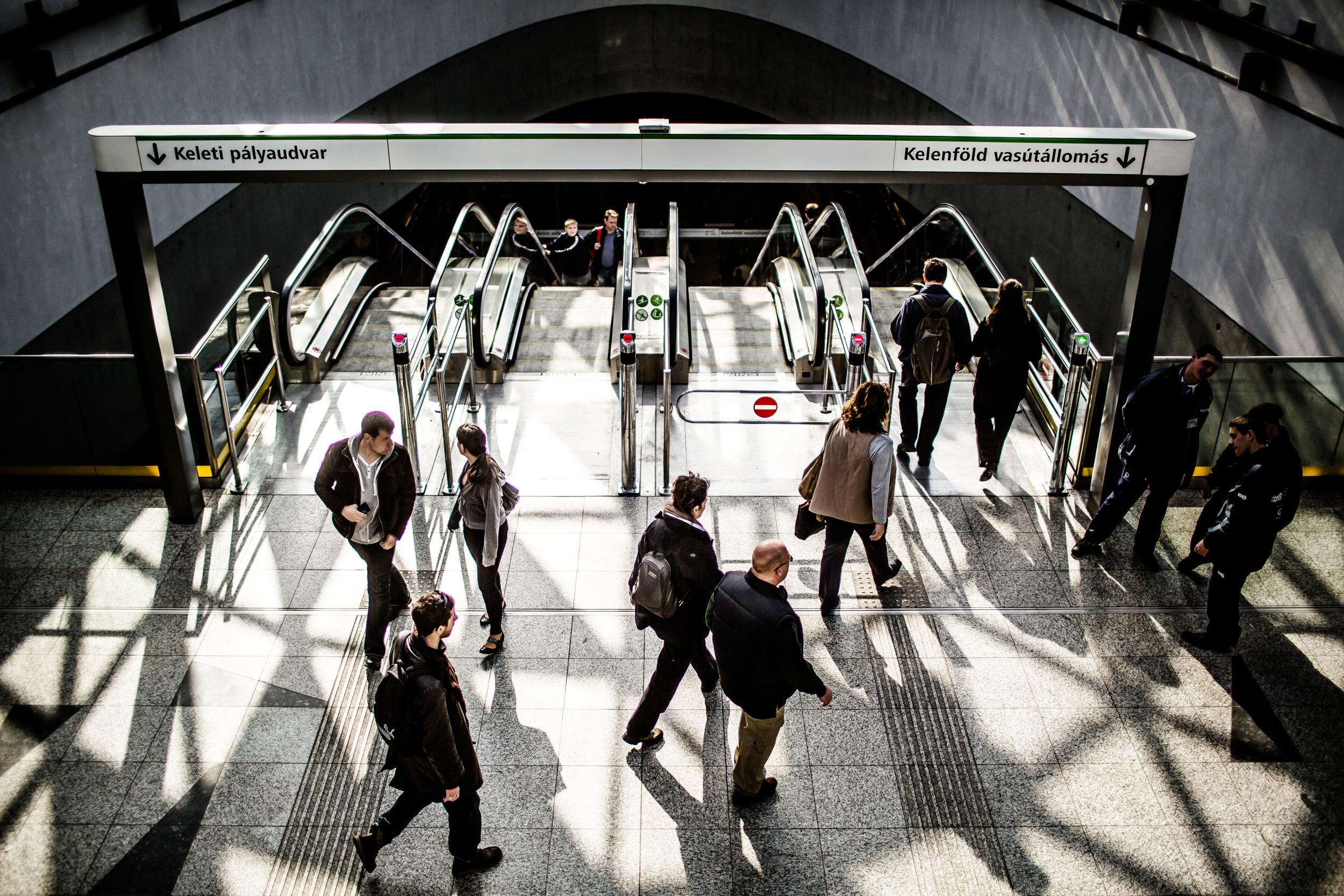 Mikor megnyitották a megállókat, az emberek szinte megőrültek érte.