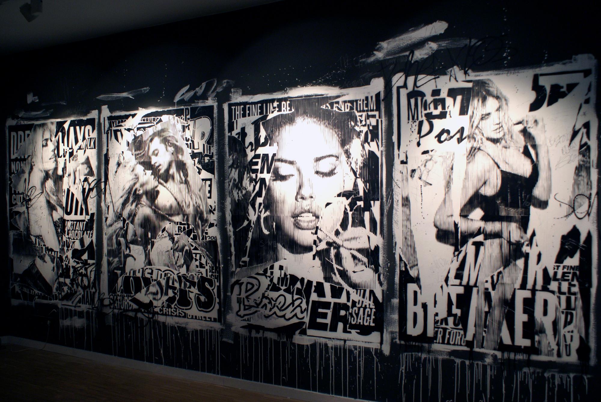 """""""no one gets out alive"""" Mila Kunstgalerie Berlin, 2012"""