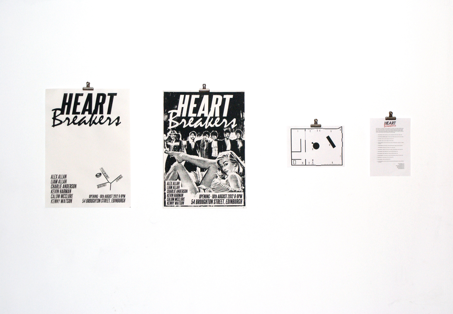 """heartbreakers"" Joey D Edinburgh, 2012"