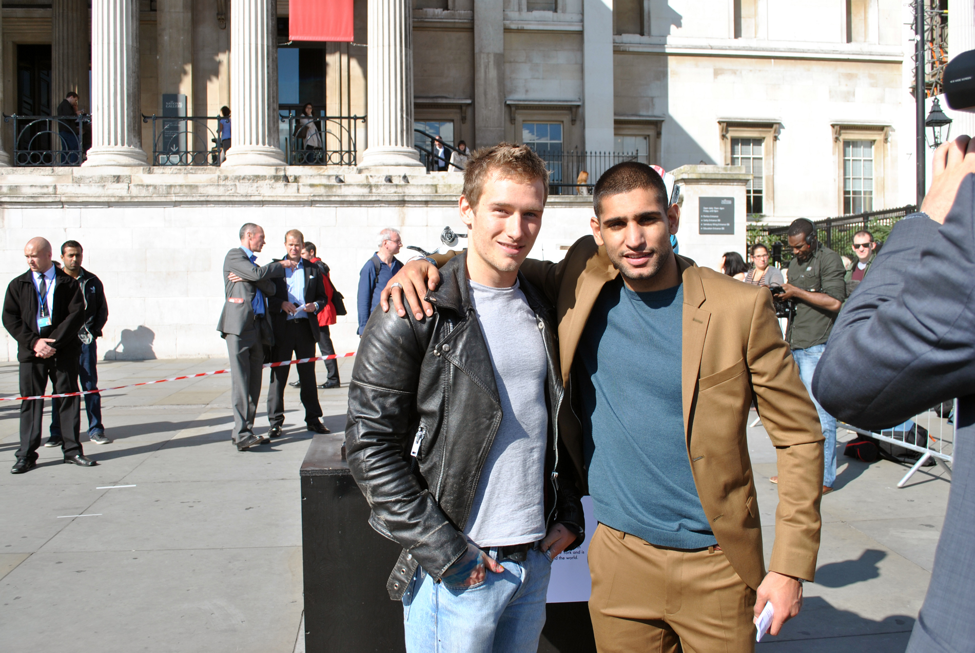 Collaboration with Amir Khan for Knot Violence 2012