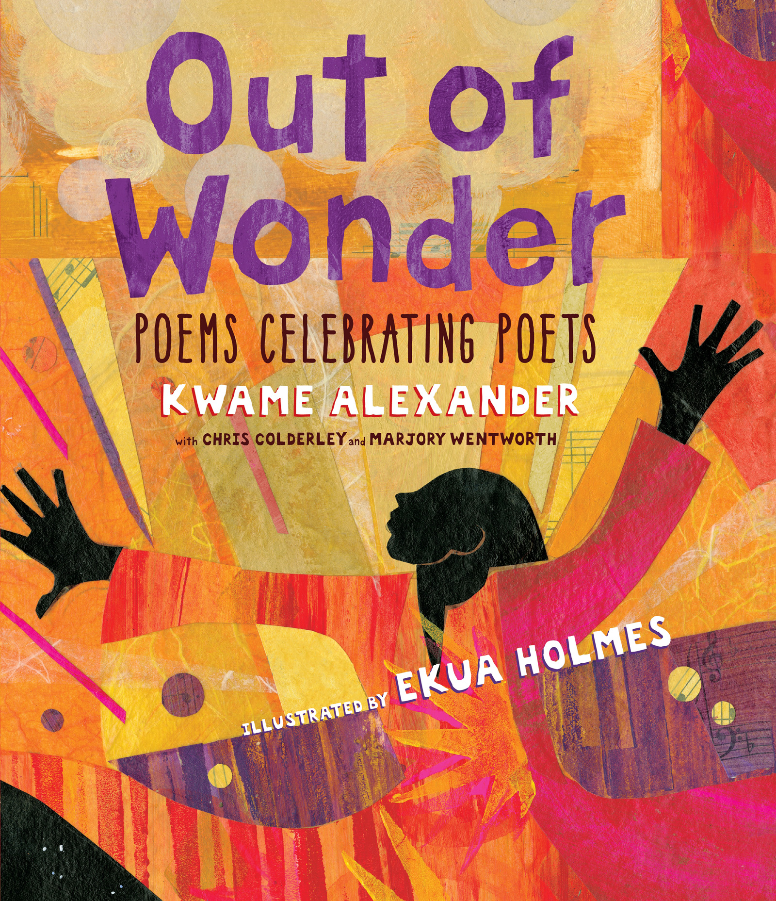 "Cover Art for ""Out of Wonder: Poems Celebrating Poets"""