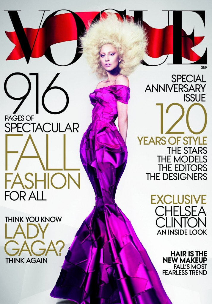 US VOGUE. Cover Story-Hair Is The New Make Up.