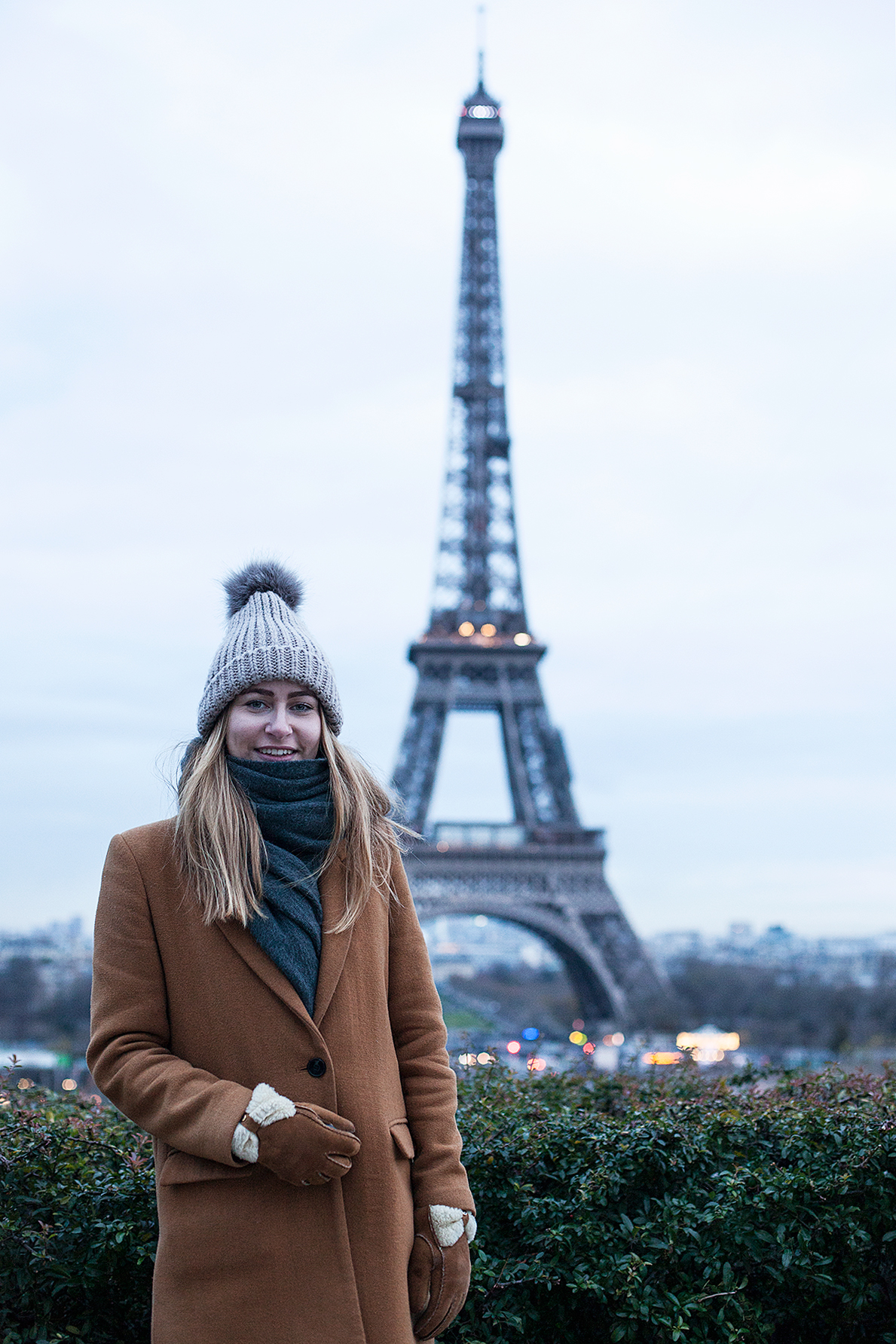 Myself & The Eiffel Tower - shot by Lee