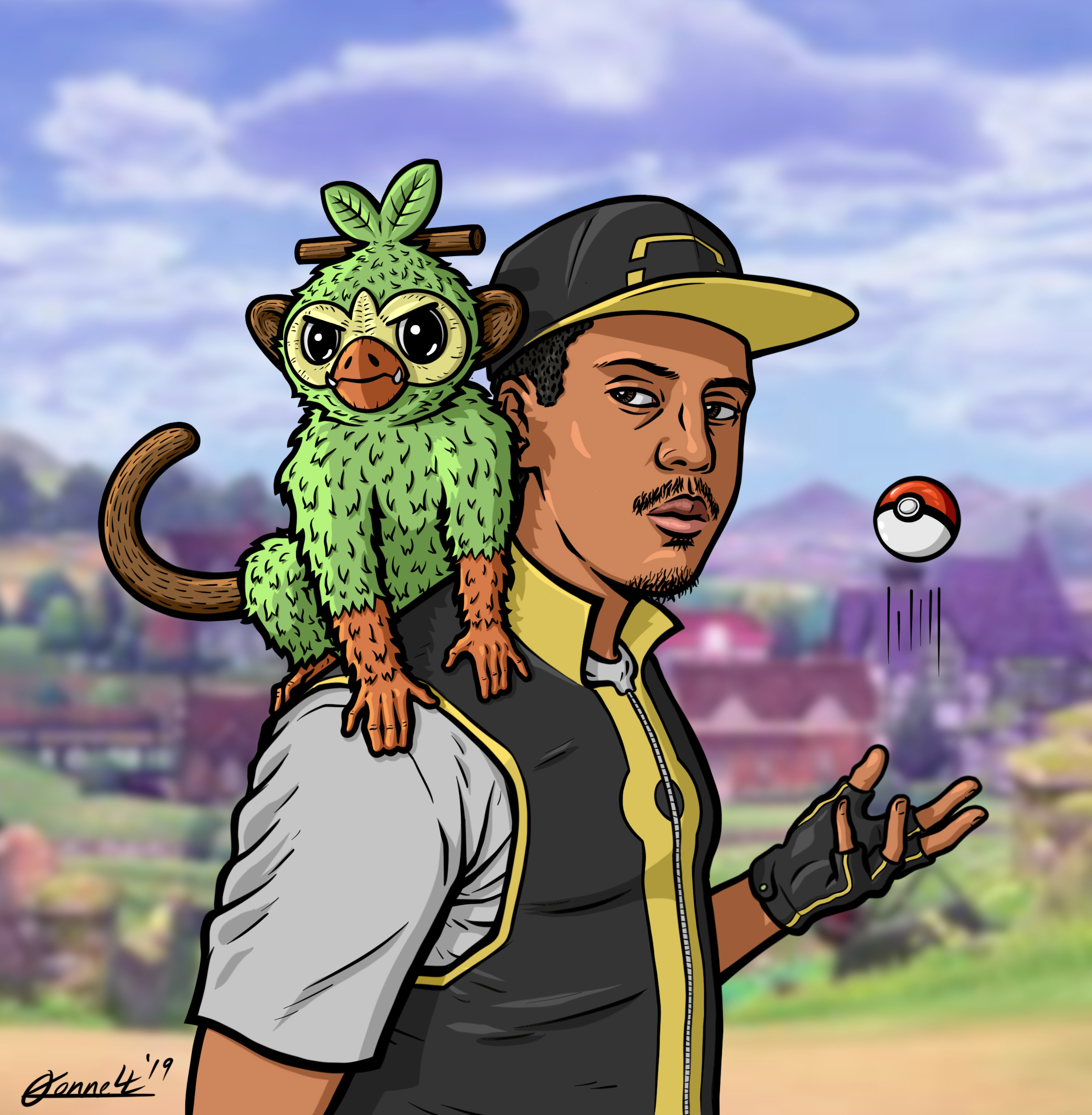 Grookey Gang Jorge O Connell Illustration Has been added to your cart. grookey gang jorge o connell