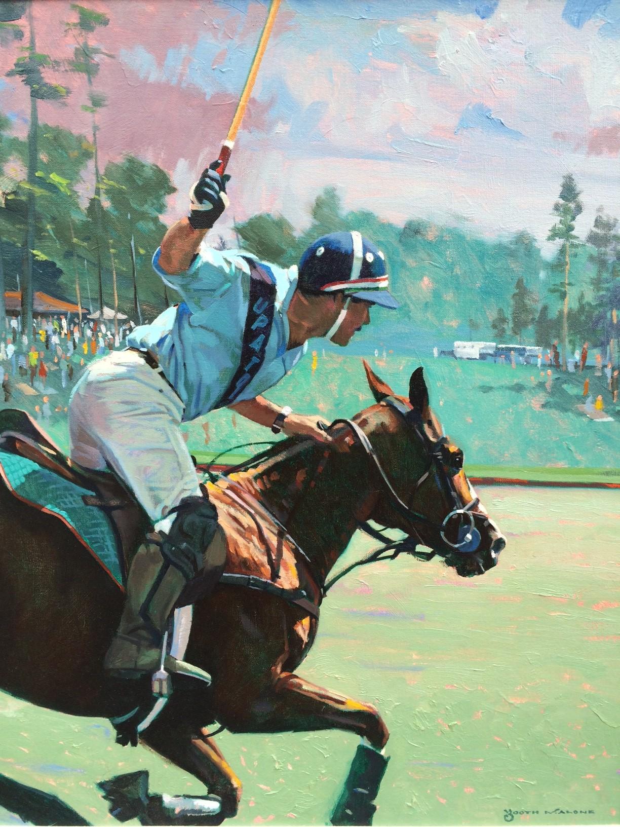 Dog & Horse Fine Art Booth Malone, Polo.JPG