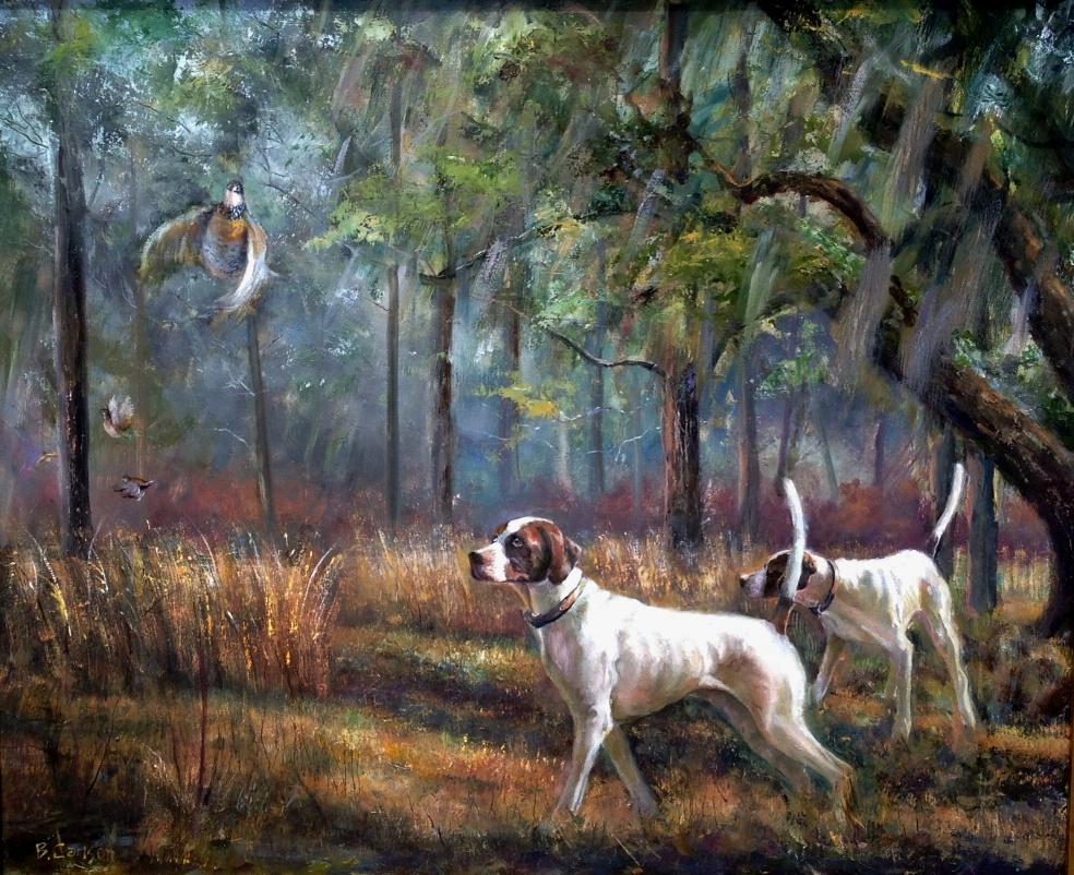 Dog & Horse Fine Art, Beth Carlson, Shadows.JPG