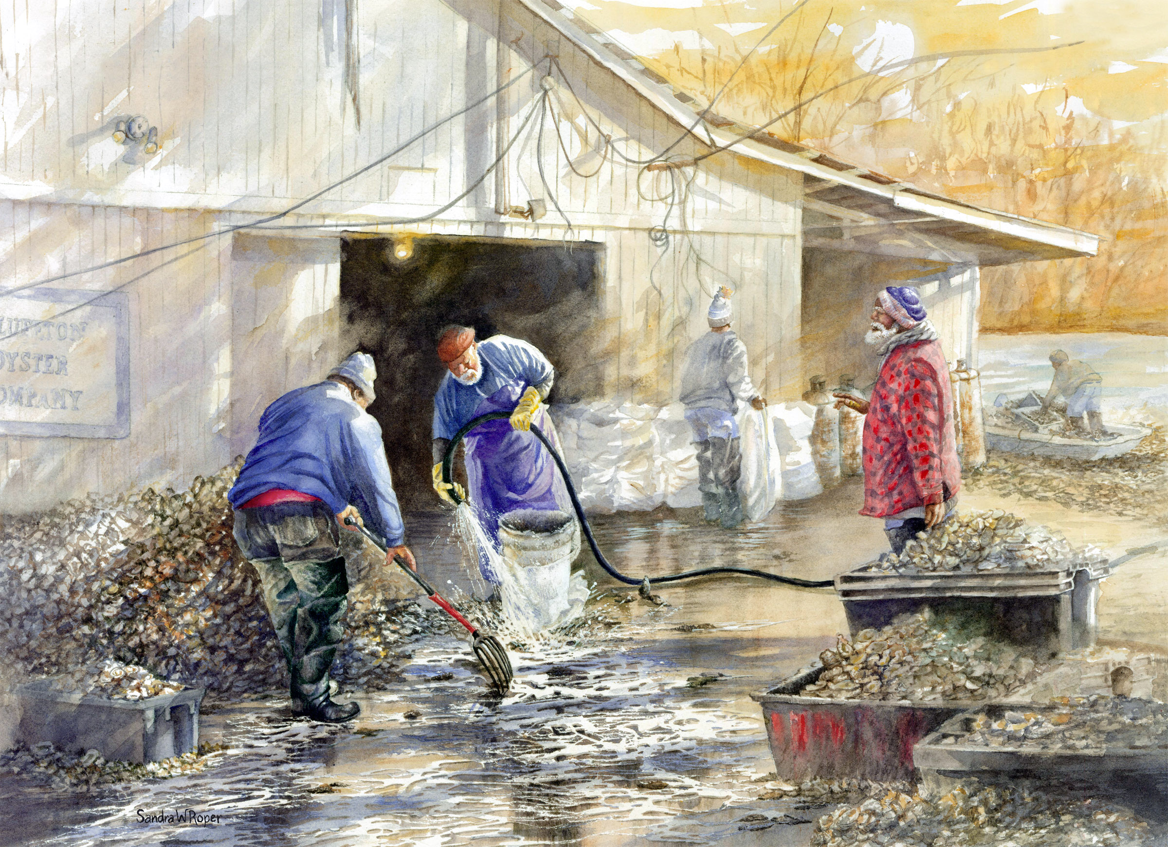 May River Oyster Pickers by Roper.jpg
