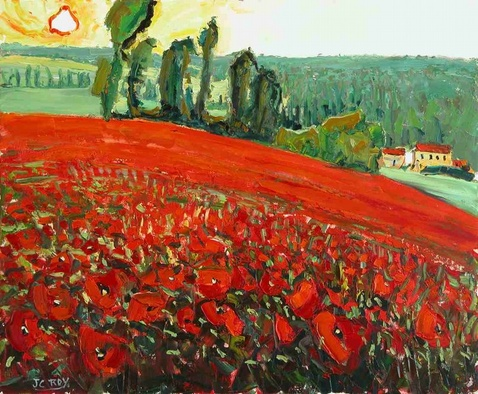Grand Bohemian Gallery_Jean Claude Roy_Coquelicots a Tonnay Boutonne.jpg