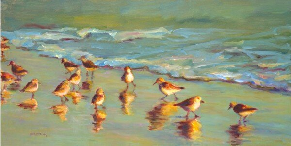 """Sandpipers"" by Beith McLean"