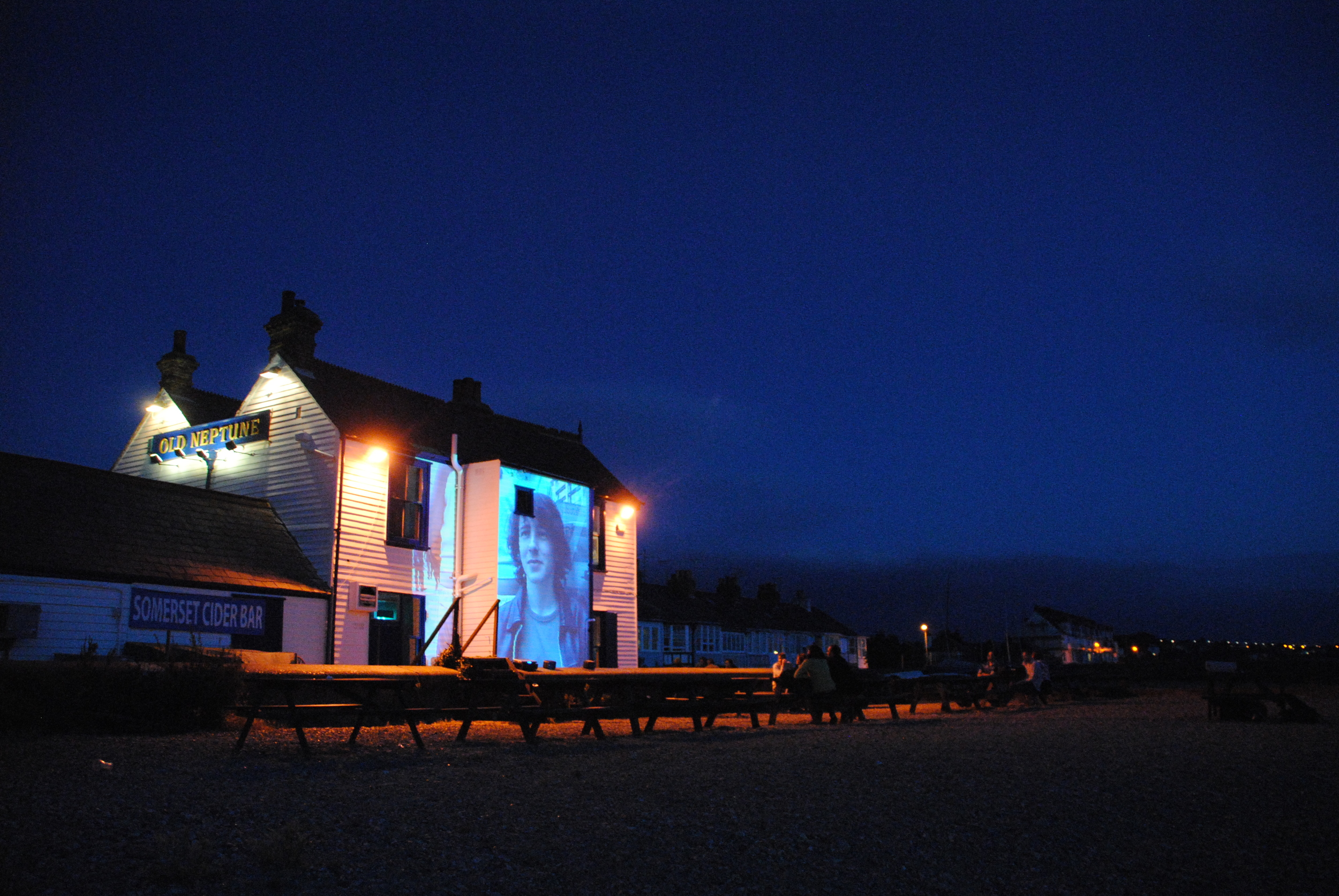 51 Zero's screening at the Neptune in Whitstable for the Biennale.