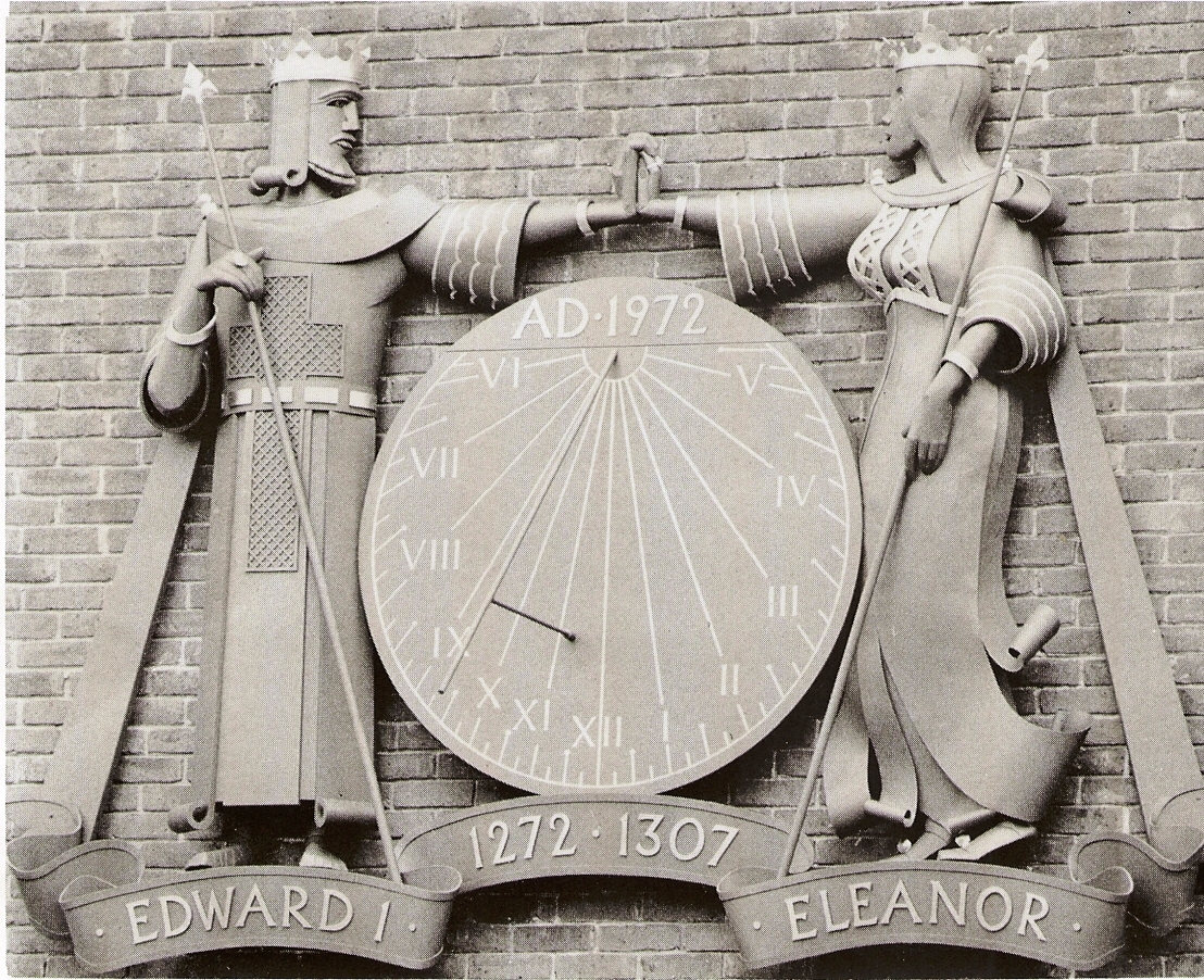 Edward_and_Eleanor_sundial_-_Guildford._with_Ann_Garland.JPG