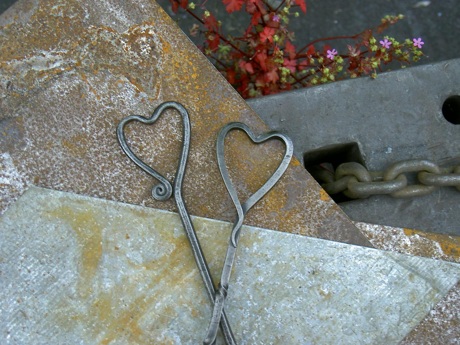Iron / Steel Love Spoons