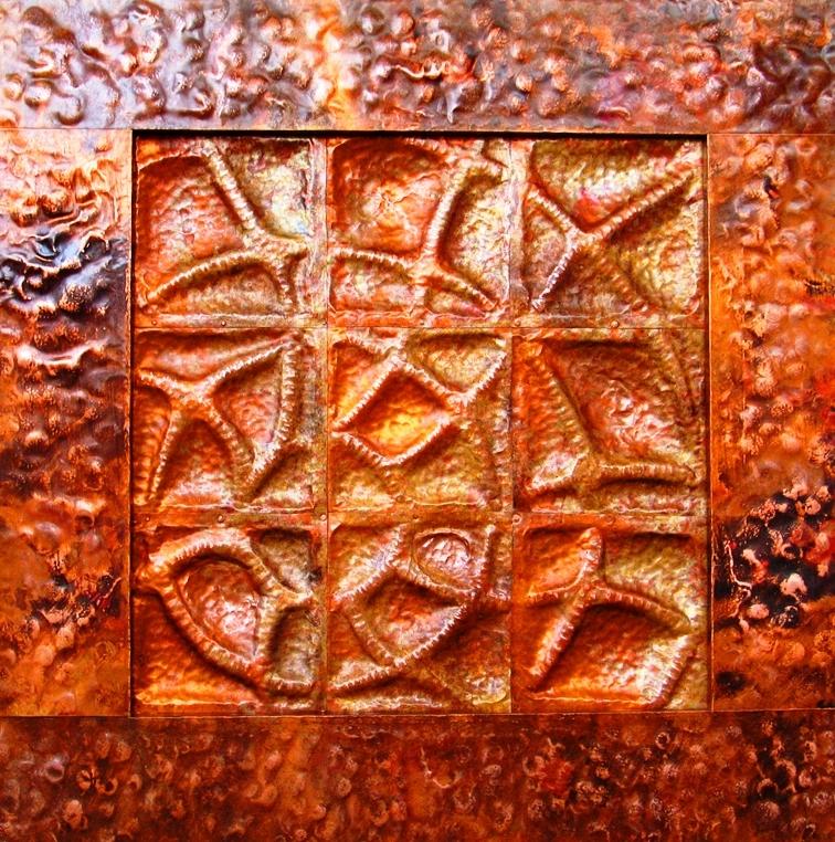 Copper Wall Sculpture