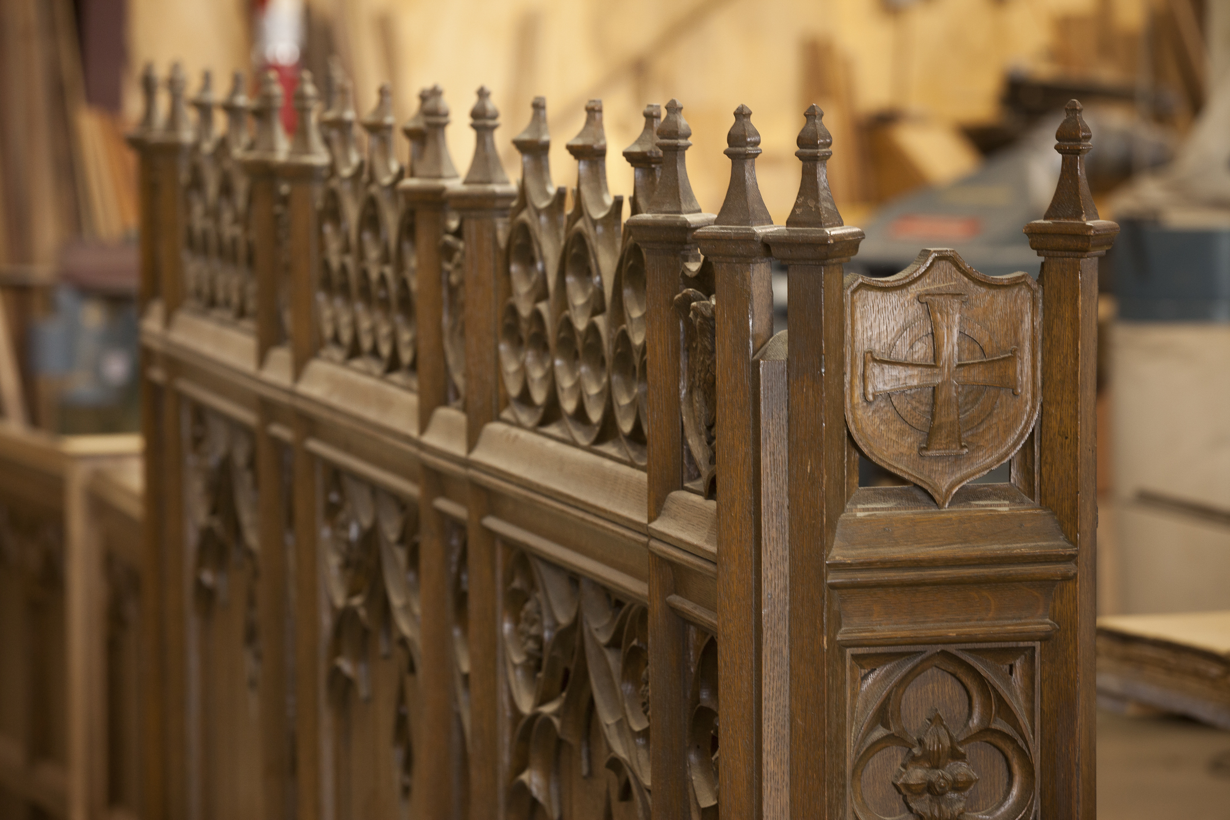 We also refurbish, repair and refinish ornate carvings and precious woodworks of old...