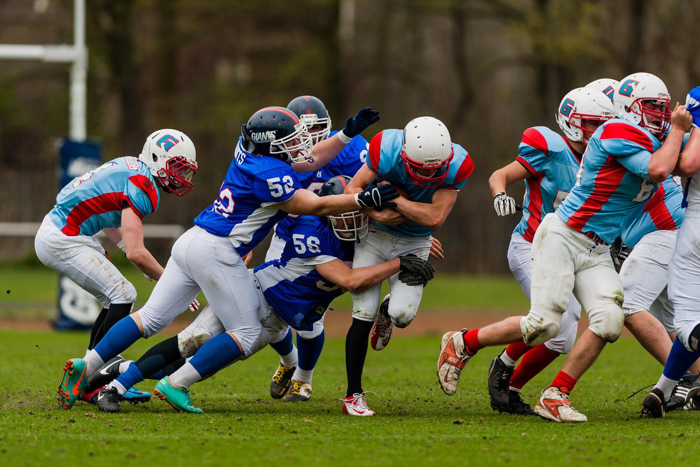 GFLJ 2013 - Dortmund Giants U19 vs. Bonn Gamecocks U19