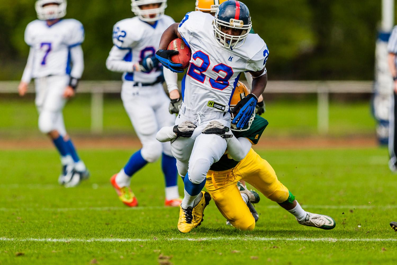 GFLJ 2013 - Dortmund Giants U19 vs. Cologne Crocodiles U19