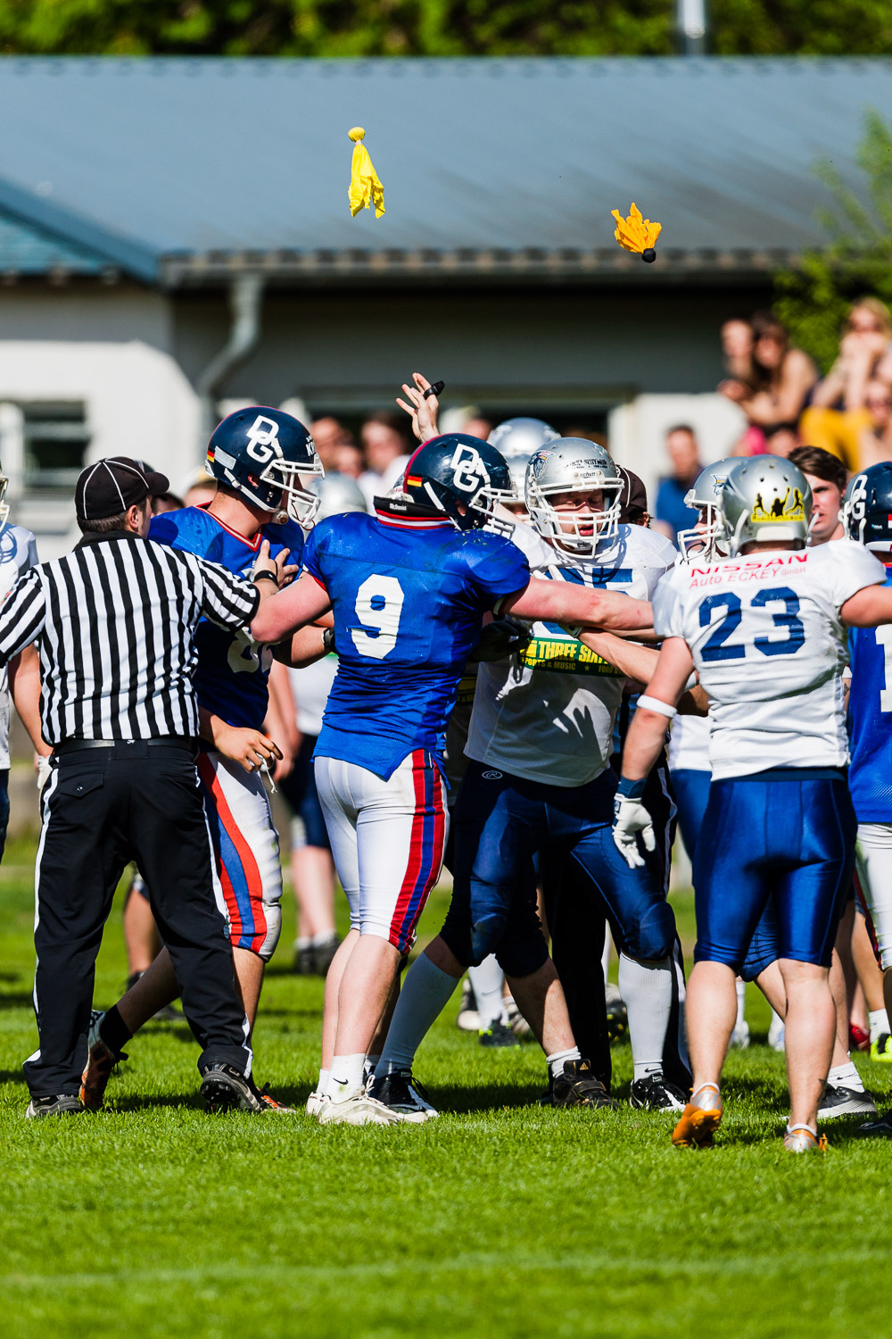 Reginalliga NRW 2013 - Bochum Cadets vs. Dortmund Giants