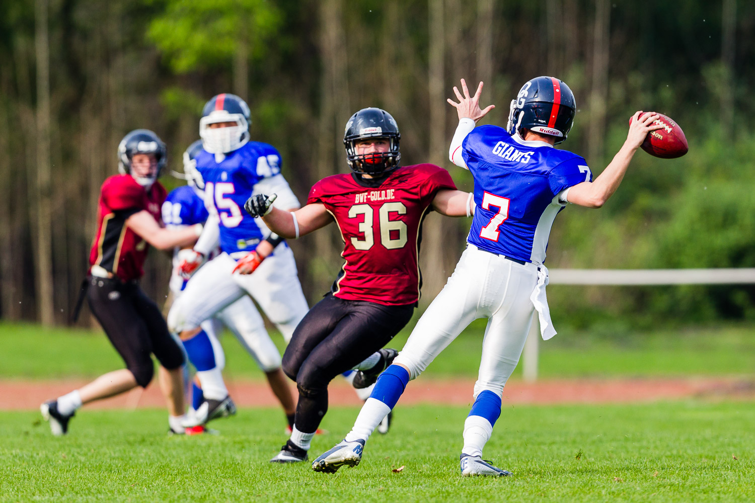 GFLJ 2014 - Dortmund Giants U19 vs. Cologne Falcons U19