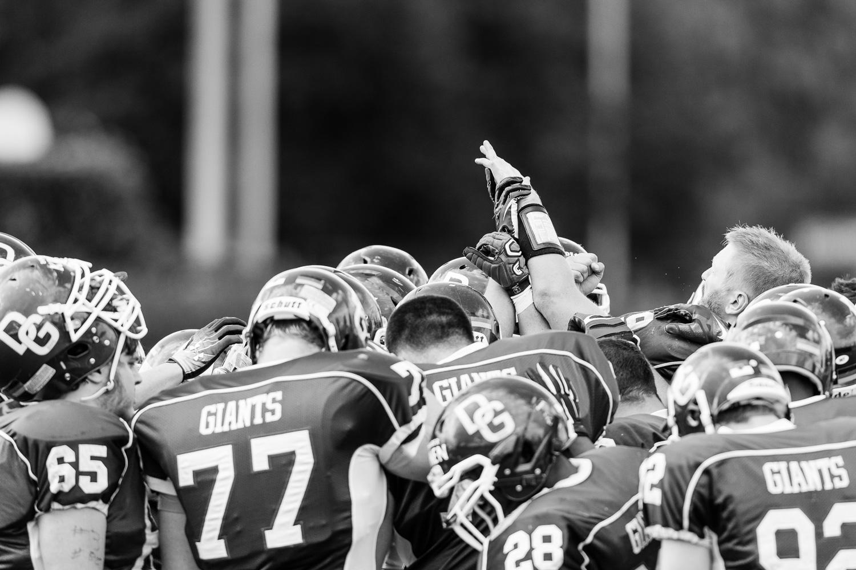 Oberliga NRW 2014 - Dortmund Giants vs. Remscheid Amboss