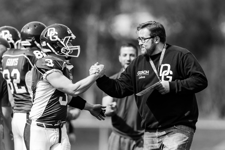 Oberliga NRW 2015 - Dortmund Giants vs. Gelsenkirchen Devils