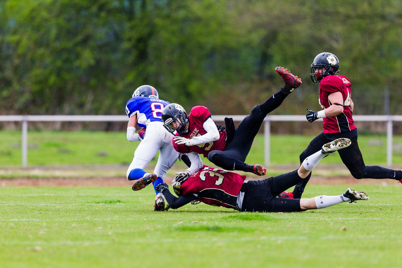 GFLJ 2015 - Dortmund Giants U19 vs. Cologne Falcons U19