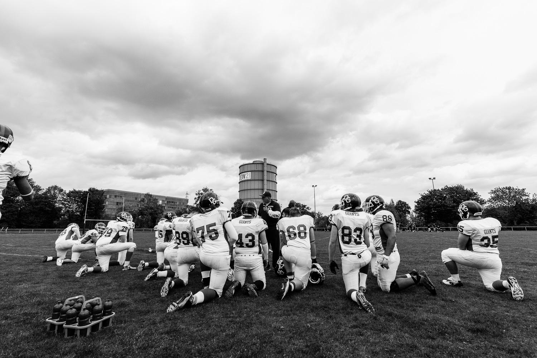 GFLJ 2015 - Dortmund Giants U19 vs. Langenfeld Longhorns U19