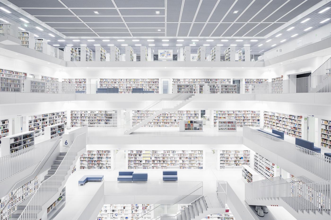 City Library, Stuttgart, 2011 (Yi Architects)