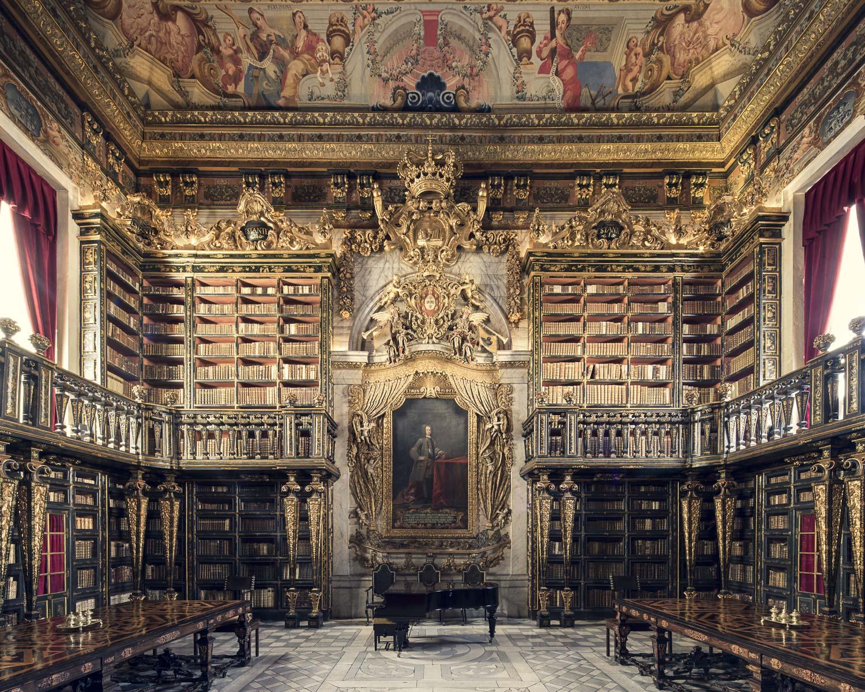 Biblioteca Joanina, Coimbra, 1728