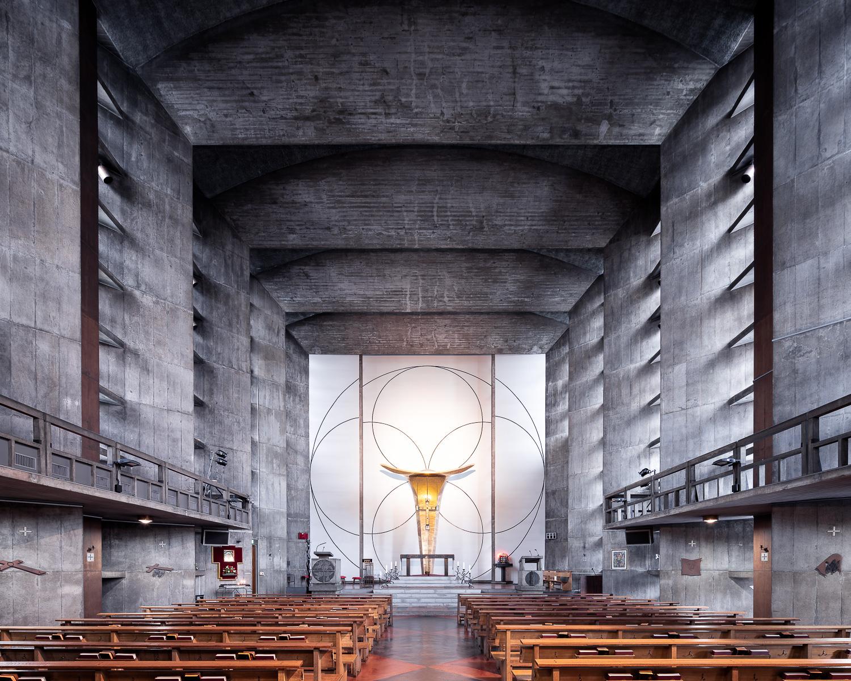 Saint Anselm's Meguro, Tokyo, Japan (Antonin Raymond, 1954)