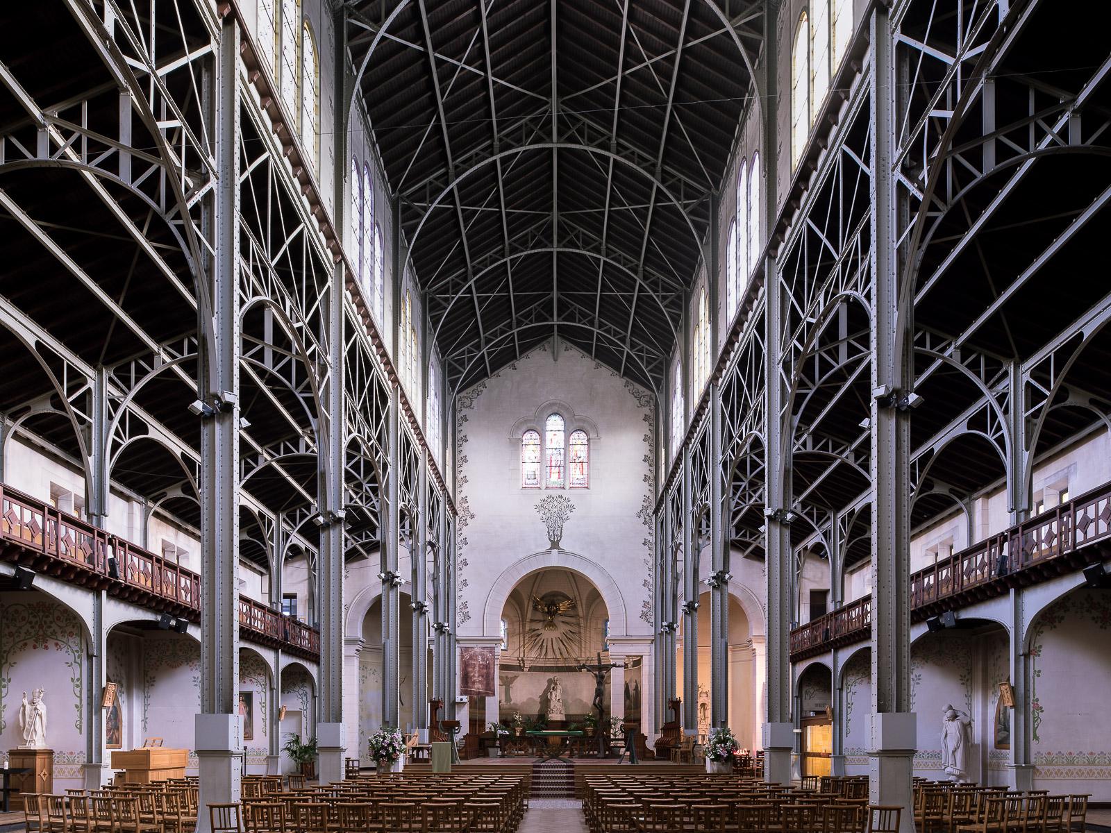 Notre-Dame-du-Travail, Paris, France (Jule-Godefroy Astruc, 1902)