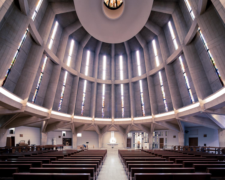 Notre-Dame-de-la-Salette, Paris, France (Henri Colboc, 1965)