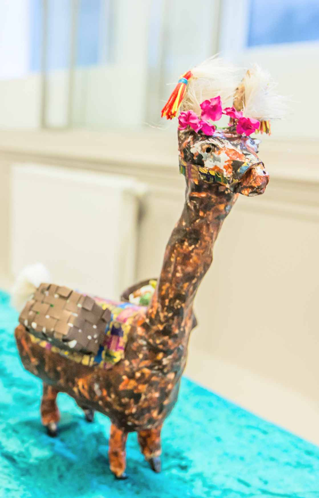 Llama on display at Summerhall  Exhibition in October 2017  -