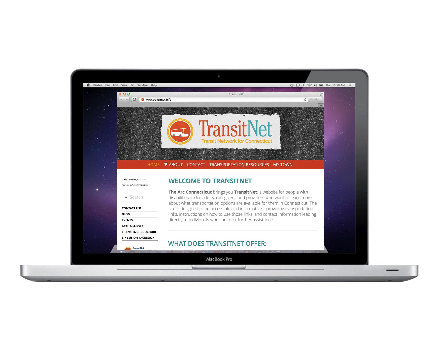 TransitNet Website