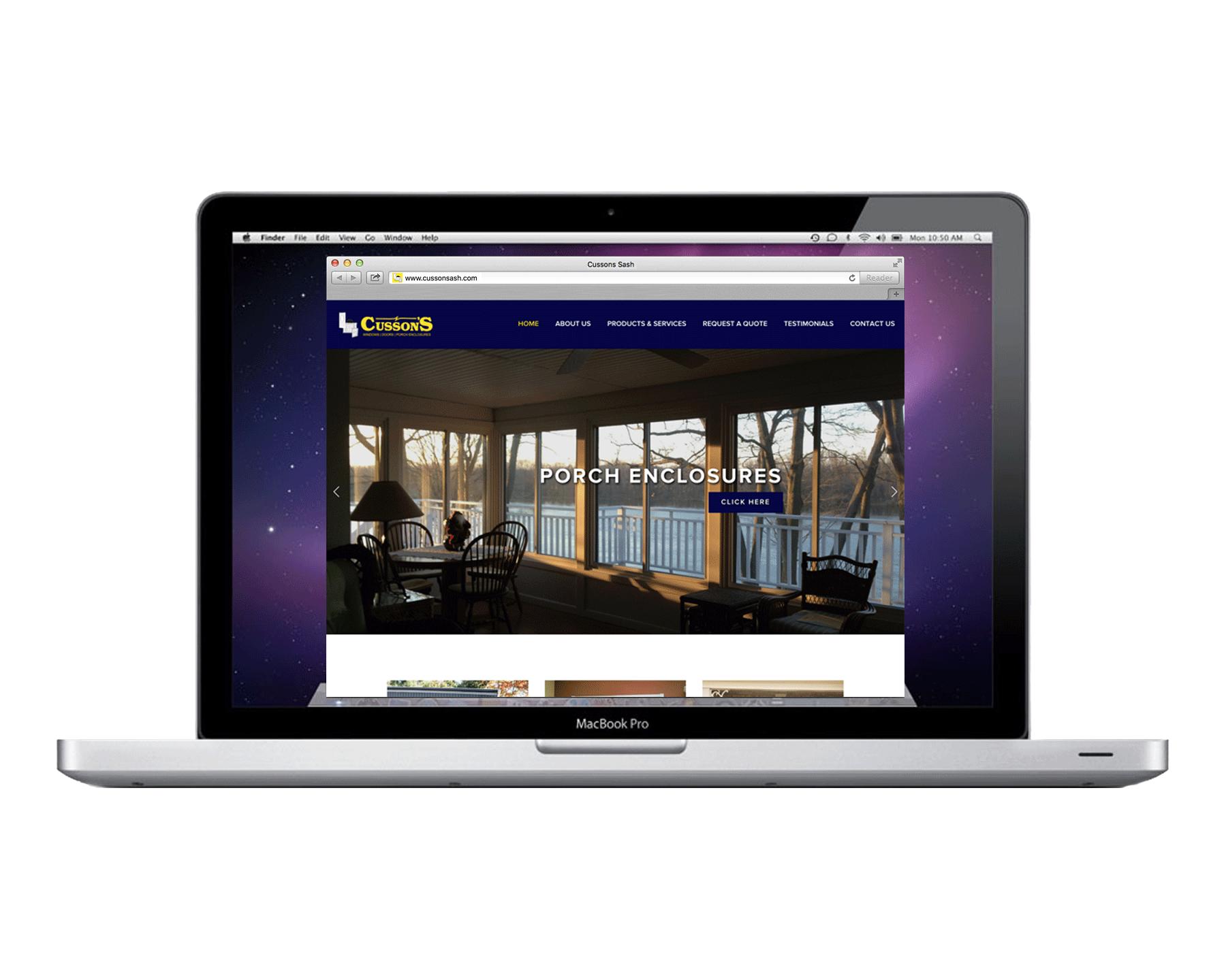 Cusson's Website