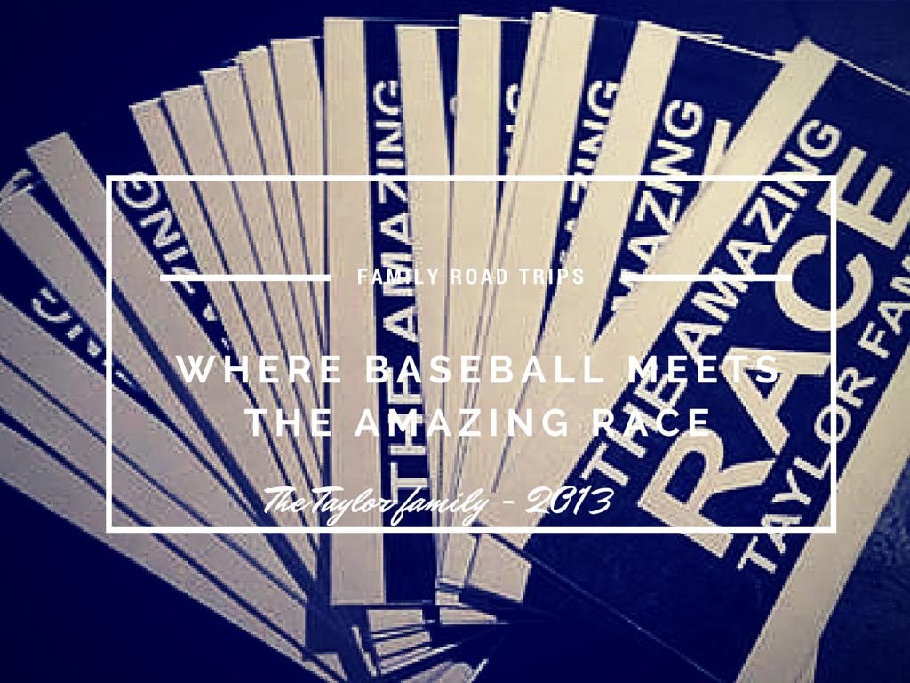"Baseball meets ""The Amazing Race"""