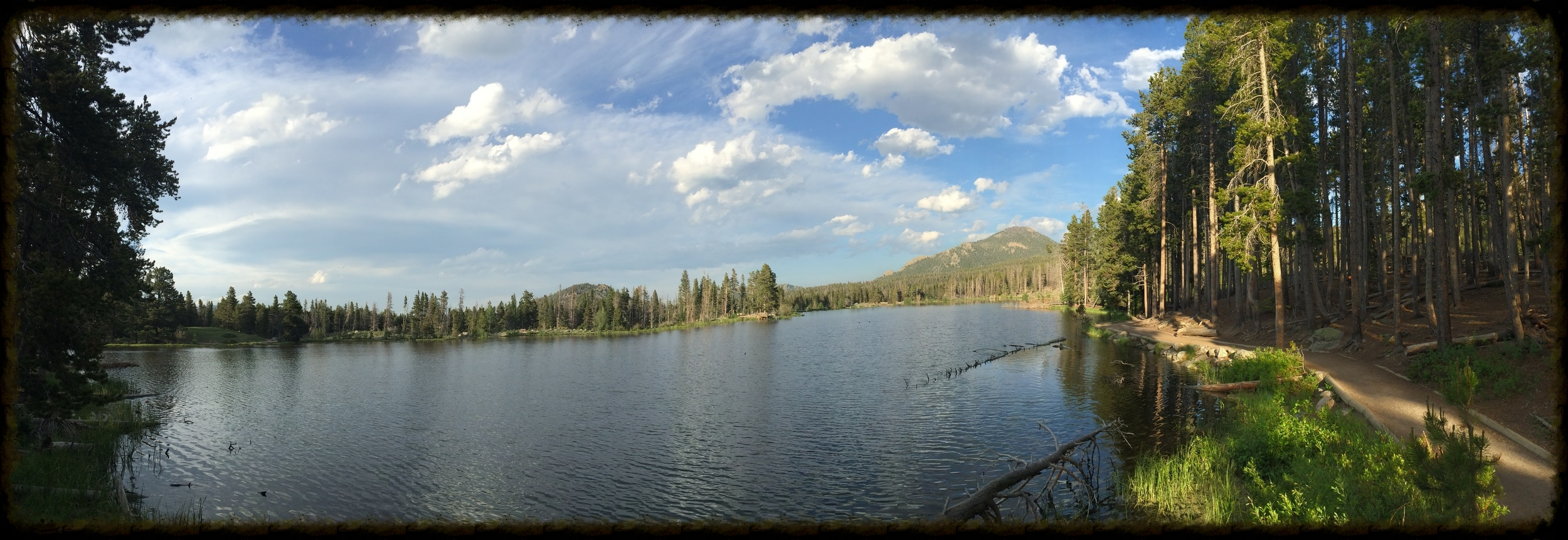 Rocky Mountain National Park's popular Bear Lake is an ideal stop for families.  Photo by Michael Mundt