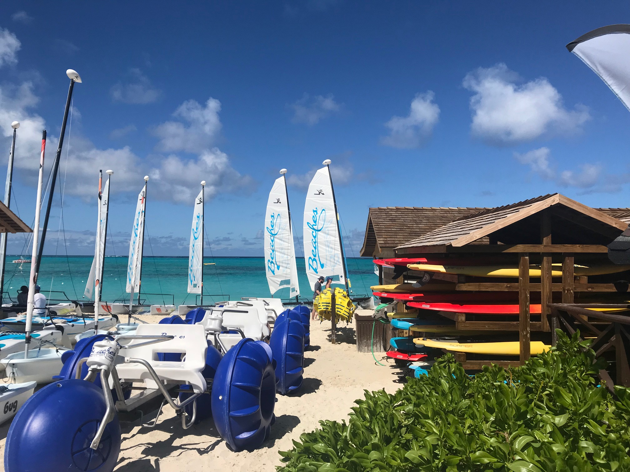 The wealth of water-sports offerings is one of the many reasons I'm now a Beaches believer. Photos by Heather Mundt.