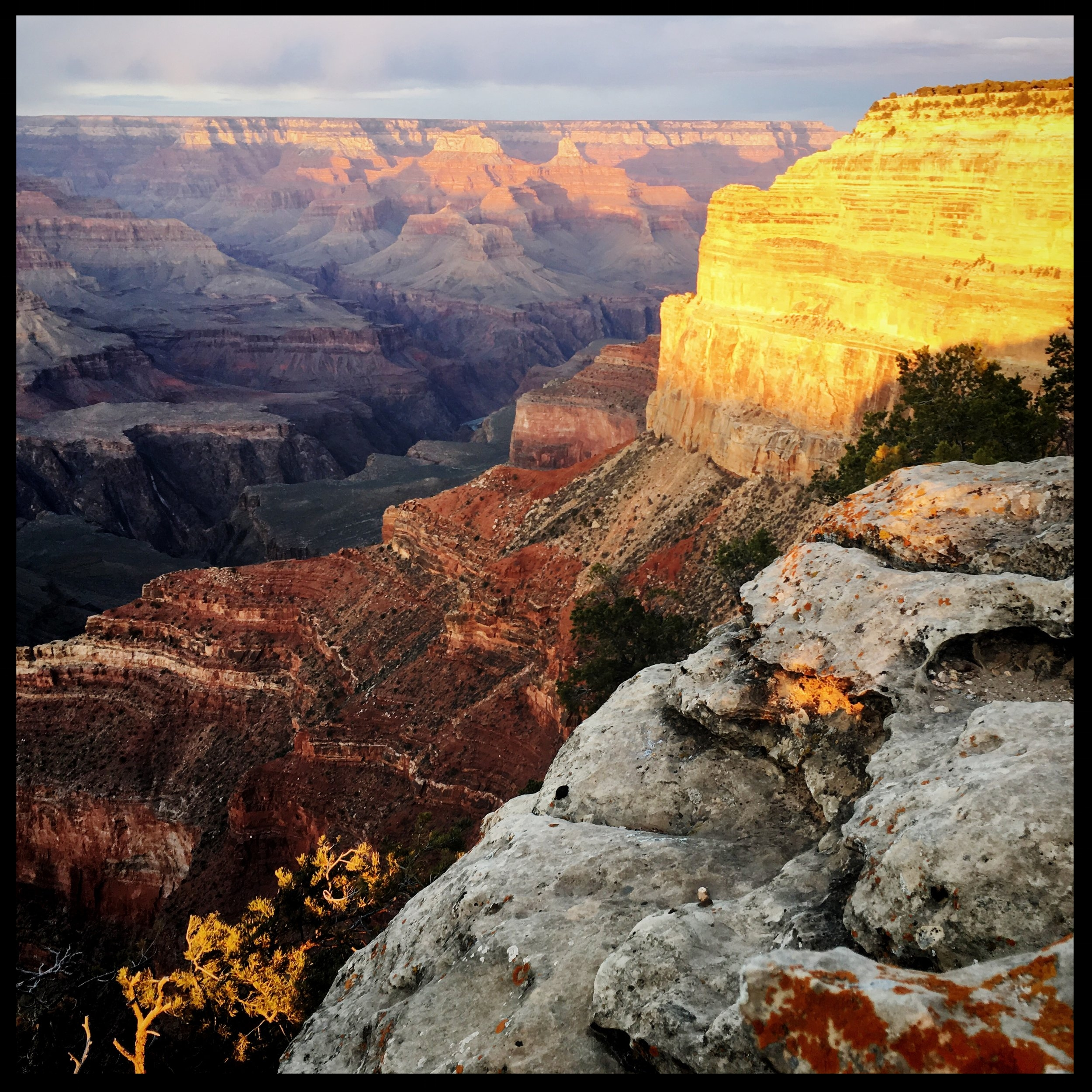 Sunset at the Grand Canyon is magical.  Photo by Michael Mundt.
