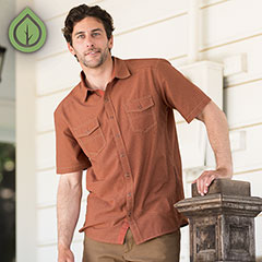 The Ecoths Roderick Shirt ($69), one of my husband's favorite picks from this spring season.