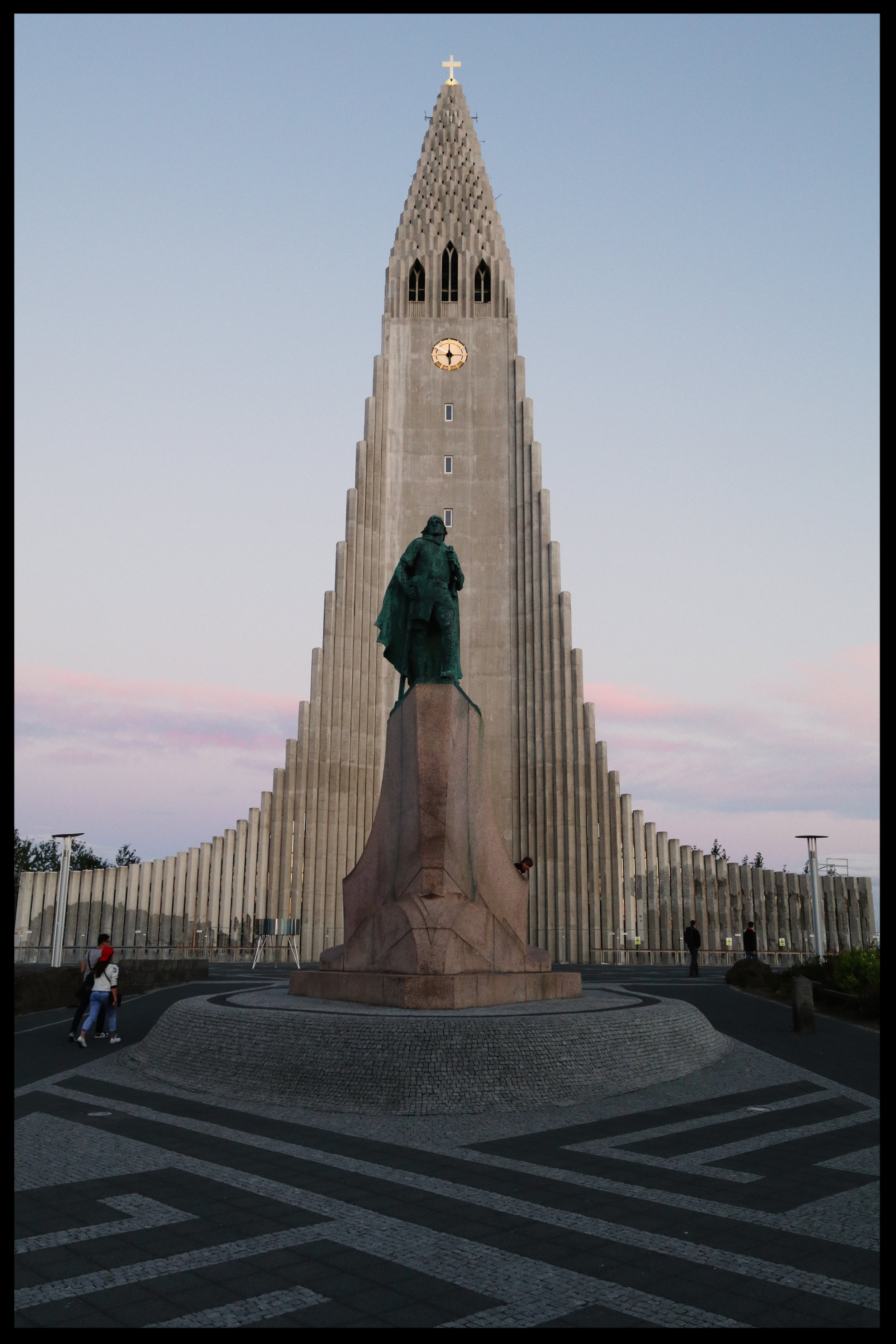 The iconic Hallgrímskirkja Lutheran church, a nod to Iceland's famous lava flows.   Photo by Michael Mundt.