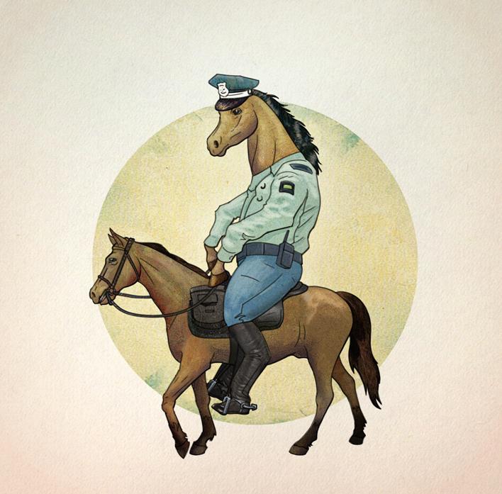 Thing X/Adult Swim: Horses