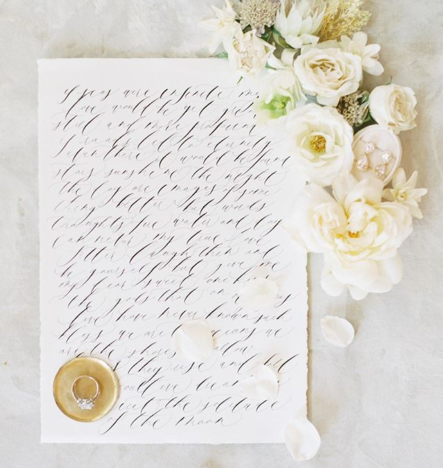 Brides! Having a copy of your invitation or vows for me to style and photograph is such a fun way to remember and look back on them! My goal is to capture every important detail that makes your wedding day unique to who you are!